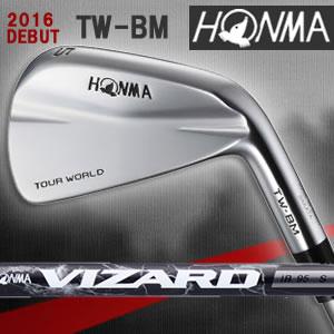 ホンマ HONMA ツアーワールド TW-BM  アイアン 6本セット カーボンシャフト【VIZARD IB】【VIZARD I】【カスタムオーダー】