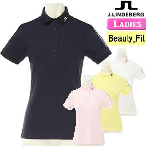 ジェイリンドバーグ J.LINDEBERG 高機能ツアーモデル半袖ポロシャツ レディース 2018モデル 全4色 XS-L(ビューティ-フィット) 072-27441