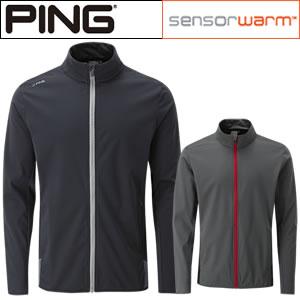 クリアランスセール!ピン PING エミュ フルジップスタンドカラーストレッチジャケット Remus Jacket ゴルフウェア (P03257)