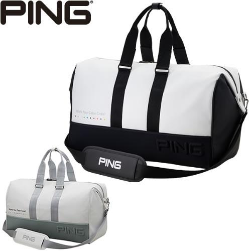 ピン PING ボストンバッグ BOSTON BAG 2019秋冬 素材:合成皮革(PU)/ポリエステル GB-C192