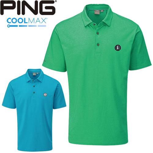ピン PING ゴルフウェア ケーエス-J半袖ポロシャツ KS-J 2020モデル メンズ S-XL 全2色 35099