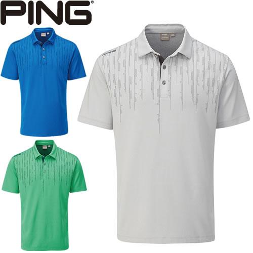 ピン PING ゴルフウェア カーボン半袖ポロシャツ CARBON 2020モデル メンズ S-XL 全3色 PO3404