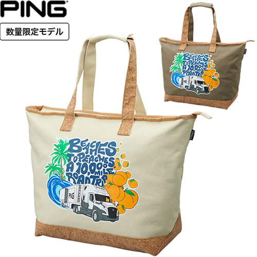 Beaches-to-Peachesシリーズ ピン PING ビーチズ トゥ ピーチズ トートバッグ TO PEACHES 35520 格安 おトク BEACHES GB-C211 TOTE