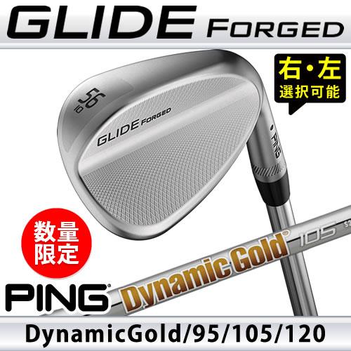 ピン ウェッジ グライド フォージド 数量限定 ダイナミックゴールド 95 105 120 DG スチールシャフト PING GLIDE FORGED WEDGE 日本仕様