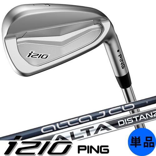 PING i210 ピン ゴルフ アイアン 単品 カーボンシャフト ALTAJCB PINGFUBUKI 左用あり 日本仕様