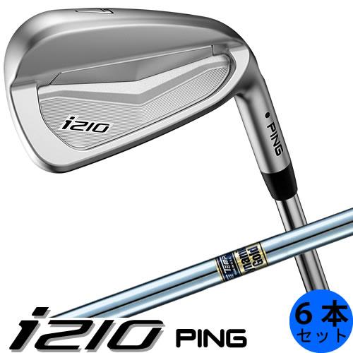 PING i210 ピン ゴルフ アイアン セット 6本セット(5~9番・PW) ダイナミックゴールド DG スチールシャフト 左用あり 日本仕様