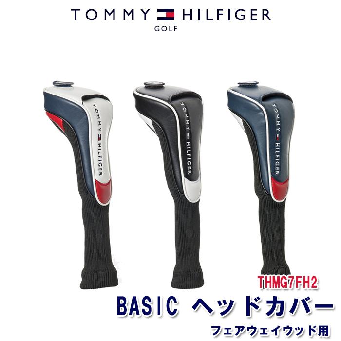 トミーヒルフィガー TOMMY HILFIGER THMG7FH2 ヘッドカバー フェアウェイウッド用 公式 BASIC 驚きの値段
