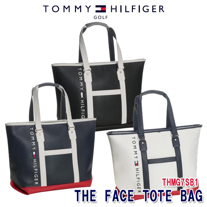 トミーヒルフィガー TOMMY HILFIGER THMG7SB1 THE FACE トートバッグ