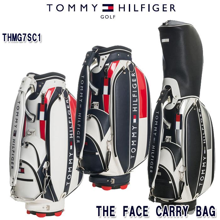 【期間限定SALE!3/11 1:59まで】トミーヒルフィガー TOMMY HILFIGER THMG7SC1 THE FACE 9インチ キャディバッグ
