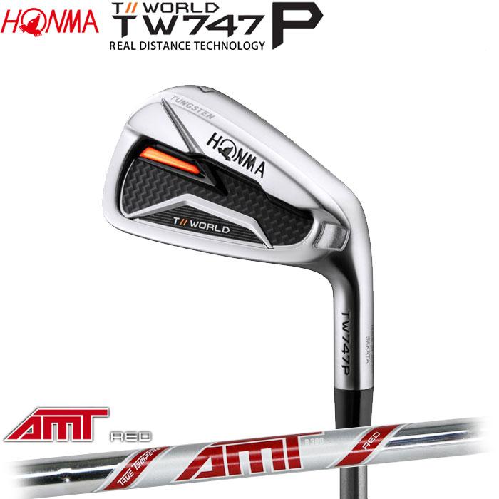 ホンマゴルフ HONMA TOUR WORLD TW747 P アイアン AMT RED 5~10 (6本セット)