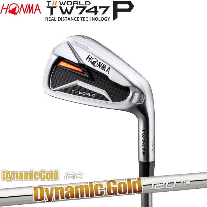 ホンマゴルフ HONMA TOUR WORLD TW747 P アイアン Dynamic Gold 120 5~10 (6本セット)