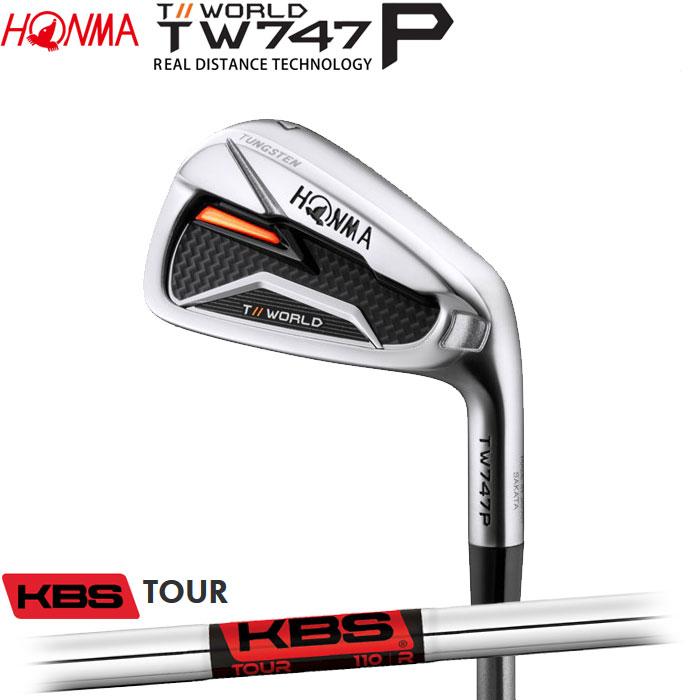 ホンマゴルフ HONMA TOUR WORLD TW747 P アイアン KBS TOUR 5~10 (6本セット)(予約受付中11月16日発売)