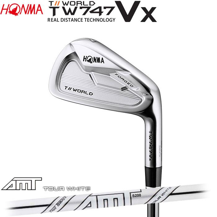 ホンマゴルフ HONMA TOUR WORLD TW747 VX アイアン AMT TOUR WHITE 5~10 (6本セット)(予約受付中11月16日発売)