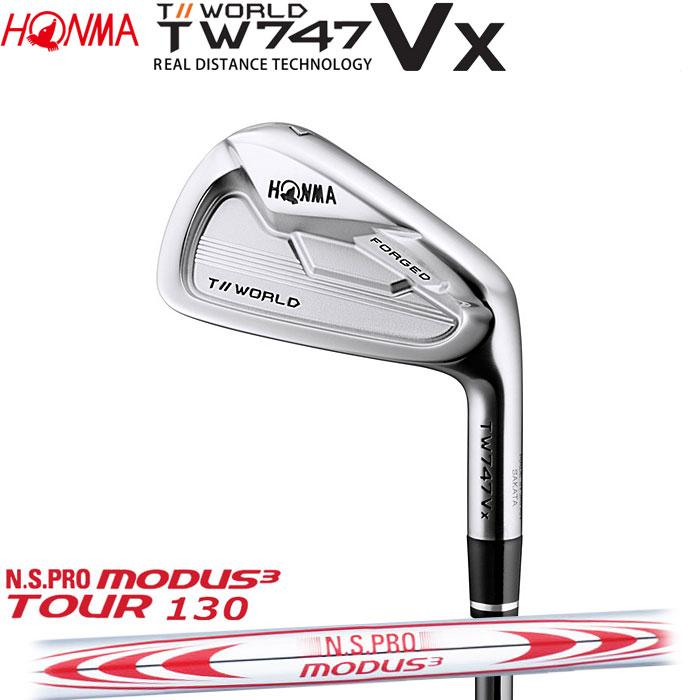 ホンマゴルフ HONMA TOUR WORLD TW747 VX アイアン N.S.PRO MODUS3 TOUR 130 5~10 (6本セット)