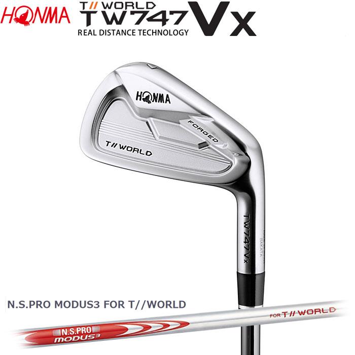 ホンマゴルフ HONMA TOUR WORLD TW747 VX アイアン N.S.PRO MODUS3 FOR T//WORLD 単品 1本