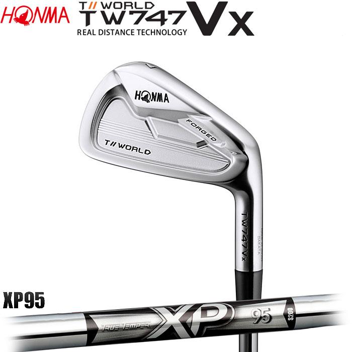 【4/16 01:59までポイントアップ!】ホンマゴルフ HONMA TOUR WORLD TW747 VX アイアン XP 95 5~10 (6本セット)