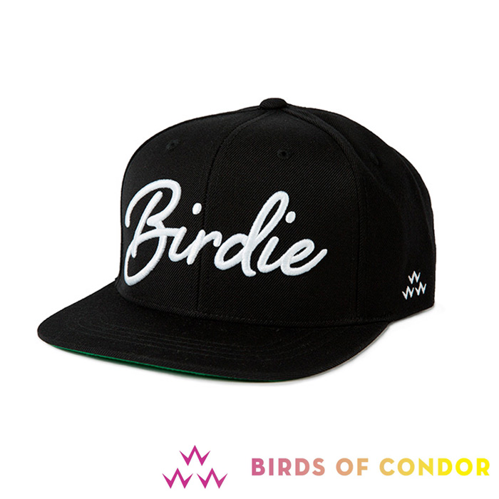 2006b841 It supports Byrds of condor BIRDS OF CONDOR TEMC8F02 SNAPBACKS cap BIRDIE  black flat saliva hat