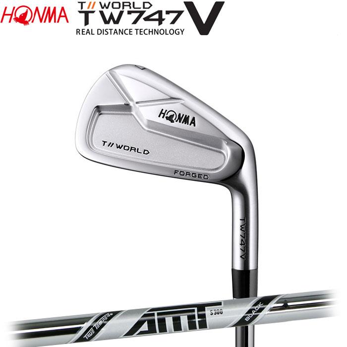ホンマゴルフ HONMA TOUR WORLD TW747 V アイアン AMT BLACK 単品 1本