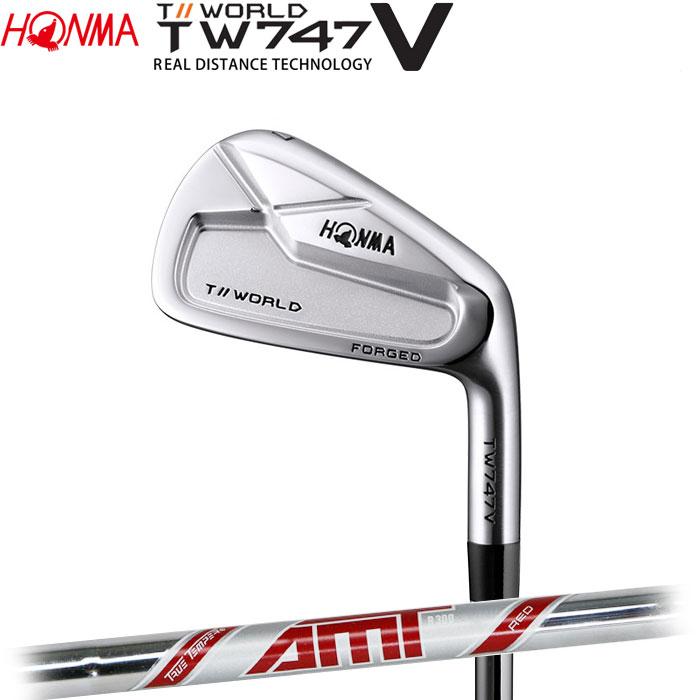 ホンマゴルフ HONMA TOUR WORLD TW747 V アイアン AMT RED 5~10 (6本セット)
