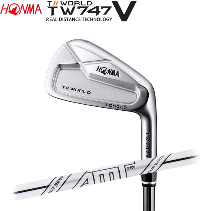 ホンマゴルフ HONMA TOUR WORLD TW747 V アイアン AMT TOUR WHITE 単品 1本
