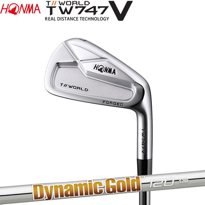 ホンマゴルフ HONMA TOUR WORLD TW747 V アイアン Dynamic Gold 120 単品 1本