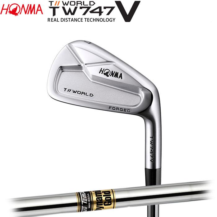 ホンマゴルフ HONMA TOUR WORLD TW747 V アイアン Dynamic Gold 5~10 (6本セット)