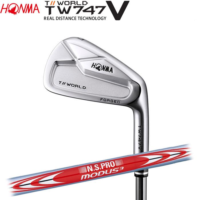ホンマゴルフ HONMA TOUR WORLD TW747 V アイアン N.S.PRO MODUS3 TOUR 105 単品 1本