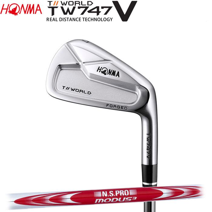 ホンマゴルフ HONMA TOUR WORLD TW747 V アイアン N.S.PRO MODUS3 TOUR 125 単品 1本