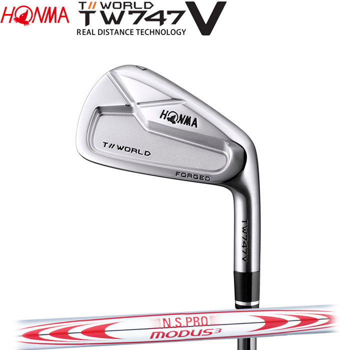 ホンマゴルフ HONMA TOUR WORLD TW747 V アイアン N.S.PRO MODUS3 TOUR 130 5~10 (6本セット)