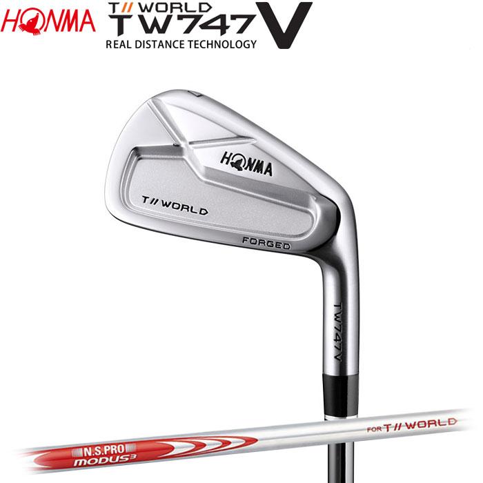 ホンマゴルフ HONMA TOUR WORLD TW747 V アイアン N.S.PRO MODUS3 FOR T//WORLD 5~10 (6本セット)