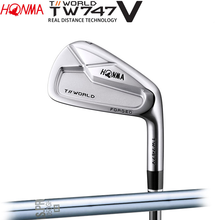 ホンマゴルフ HONMA TOUR WORLD TW747 V アイアン N.S.PRO 1050GH 単品 1本