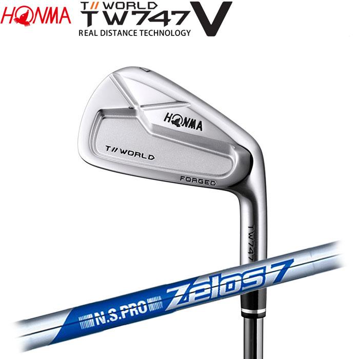 ホンマゴルフ HONMA TOUR WORLD TW747 V アイアン N.S.PRO ZELOS 7 5~10 (6本セット)