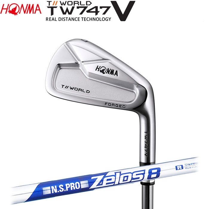 ホンマゴルフ HONMA TOUR WORLD TW747 V アイアン N.S.PRO ZELOS 8 5~10 (6本セット)