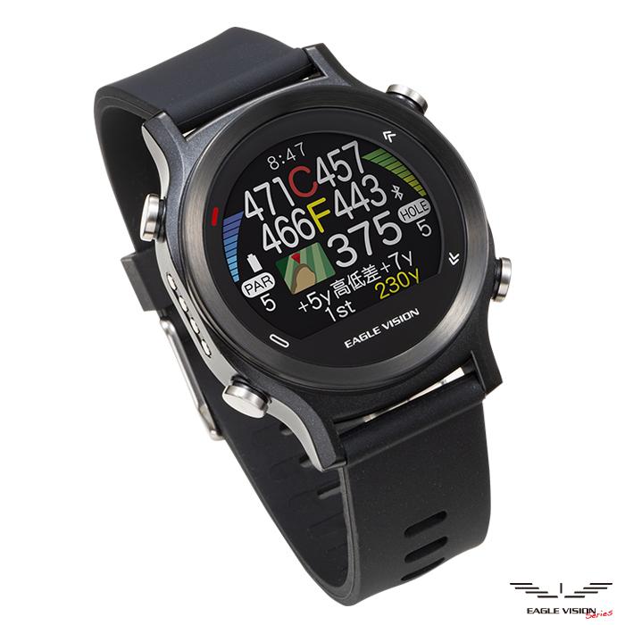 イーグルビジョン EV-933 Watch ACE 腕時計型GPSゴルフナビ EAGLE VISION ウォッチ エース 朝日ゴルフ用品