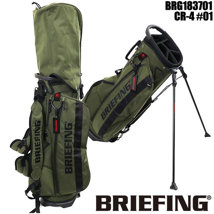 ブリーフィング ゴルフ BRIEFING GOLF BRG183701 CR-4 #01 スタンドキャディバッグ 9インチ レンジャーグリーン