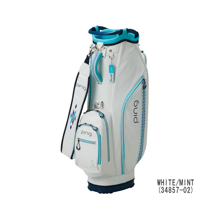 Pin Golf Ping Cb L191 Lady S Cad Bag 9 Inches 34857