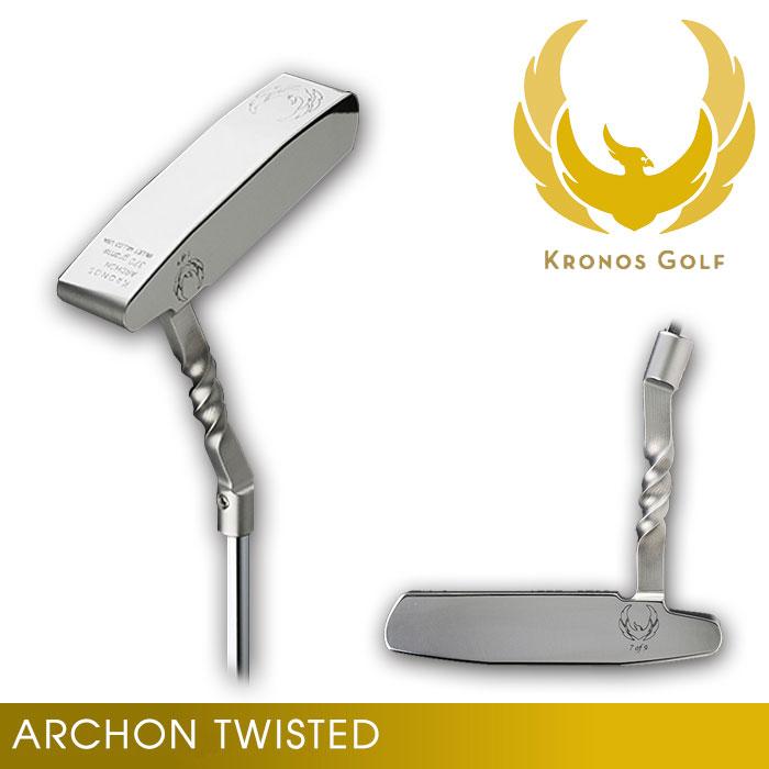 クロノスゴルフ KRONOS TWIST Neck Model ARCHON Twisted アーコン パター ツイストネック 34インチ
