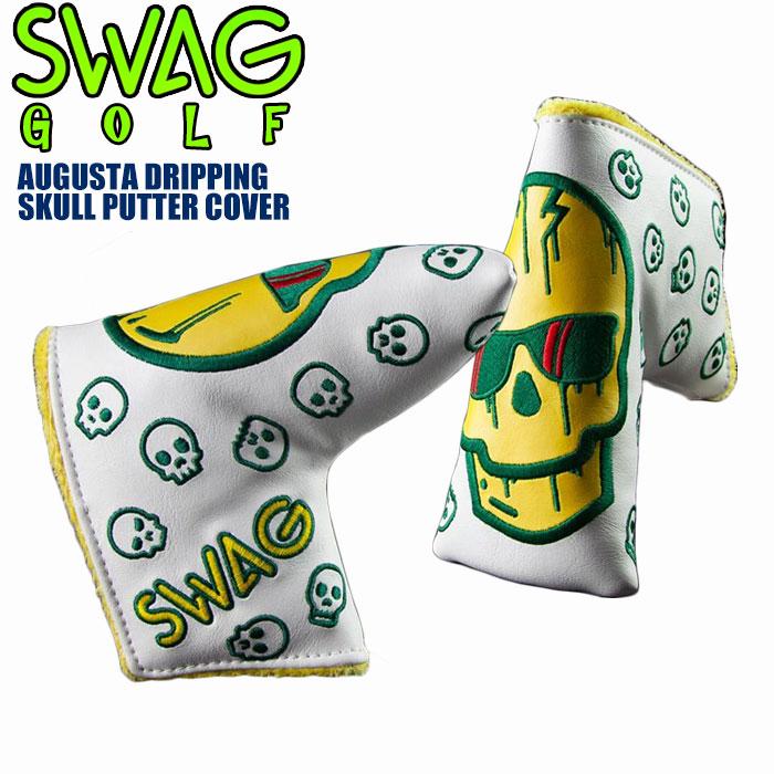 スワッグ ゴルフ SWAG GOLF オーガスタドリッピング・スカル パターカバー AUGUSTA DRIPPING SKULL マグネット