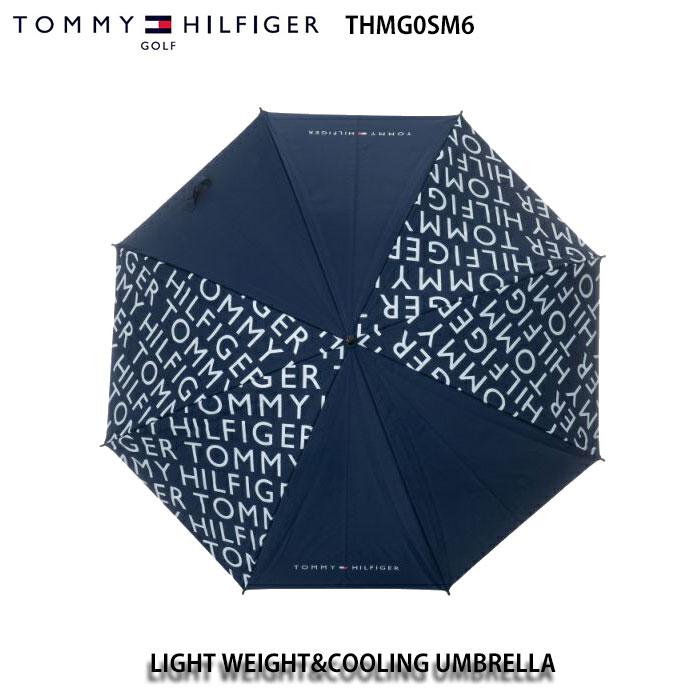 トミーヒルフィガー TOMMY HILFIGER THMG0SM6 LIGHT WEIGHT&COOLING UMBRELLA アンブレラ 傘 日除け ネイビー 軽量