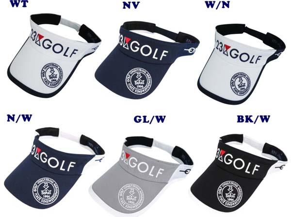 PREMIUM SALE 秋のゴルフ応援企画 35%OFF 23区GOLF スポーツラインメッシュバイザー大きめサイズもあります GOLFLINE トレンド GOLFLINE-WEAR HT1PKW-0811 0812