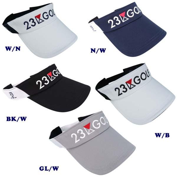 PREMIUM SALE 秋のゴルフ応援企画 23区GOLF 人気ショップが最安値挑戦 クラブロゴメッシュバイザー大きめサイズもあります GOLFLINE-WEAR 大人気 GOLFLINE 0832 HT1PKW-0831