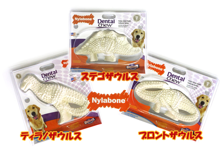 価格交渉OK送料無料 アメリカで大人気Nylabone ナイラボーン 恐竜おもちゃ 歯と歯茎の強化に いつでも送料無料 チキンフレーバー ステゴザウルス デンタルダイナソー 正規品ティラノザウルス ブロントザウルス