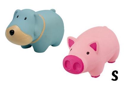 ちまたで大人気 犬 ブタのラテックスゴムのおもちゃ 犬のおもちゃ ブートン 売れ筋 ブルータス 税抜 プラッツ 直営ストア Sブタのゴムおもちゃ 5000円 以上送料無料