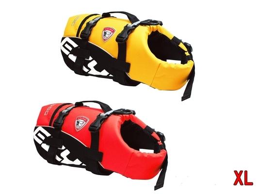 送料無料 EZYDOG ライフジャケット XLサイズ ペット用(ドッグ)水遊びに/ 大型犬用 イージードッグ DFDスタンダード フローティングベスト