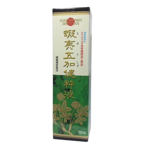 ヤクハン製薬 蝦夷五加健粋液(エゾウコギ)720mlx6本