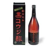 サンヘルス 黒コウジ酢 720ml 12本(11本+サンプル1本)