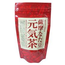 100%鹿児島産の「薩摩なた豆」最高品質のなた豆、純国産の原材料を使用しました 【送料無料】ヨシトメ 薩摩なた豆元気茶 90g(3g×30包)x6袋セット