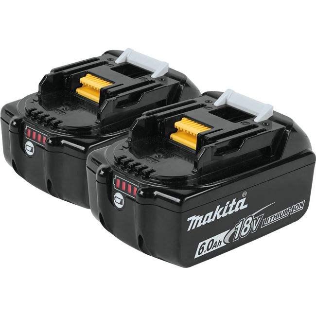 マキタ BL1860B 2個セット 電動工具 最新版 雪マーク付 18V 高容量 6.0Ah スライド式バッテリー リチウムイオン