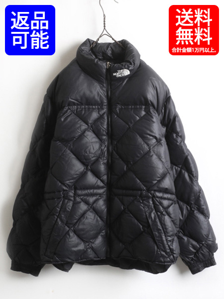 850d298dc The North Face popularity black ■ North Face full zip 600 Phil down jacket  (lady's woman big size XL) old clothes jacket | A used quilting nylon ...