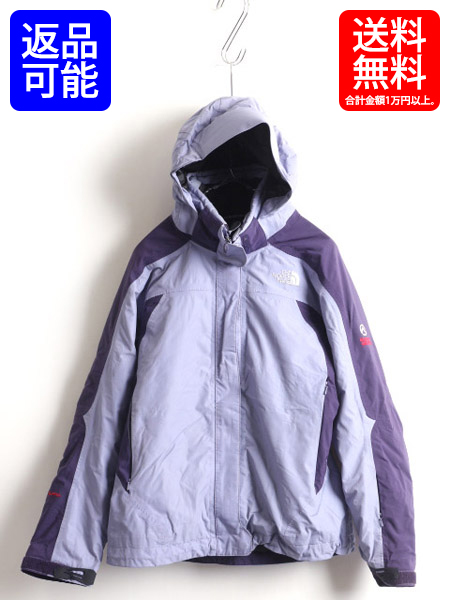 85b24472c The North Face ■ North Face SUMMIT SERIES HyVent Alpha Primaloft desorption  food parka jacket (lady's woman M) old clothes purple | Used summit ...